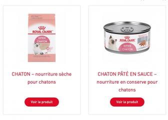 Royal canin chaton